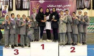 کبدی بانوان جوانان کشور سنندج iran women kabaddi junior 2 400x240 کبدی جوانان کشور در سنندج ؛ قهرمانی تهران با پیروزی بر گلستان