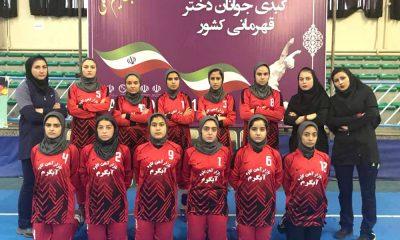 کبدی بانوان جوانان کشور سنندج iran women kabaddi junior 4 400x240 مسابقات کبدی جوانان دختر کشور در سنندج