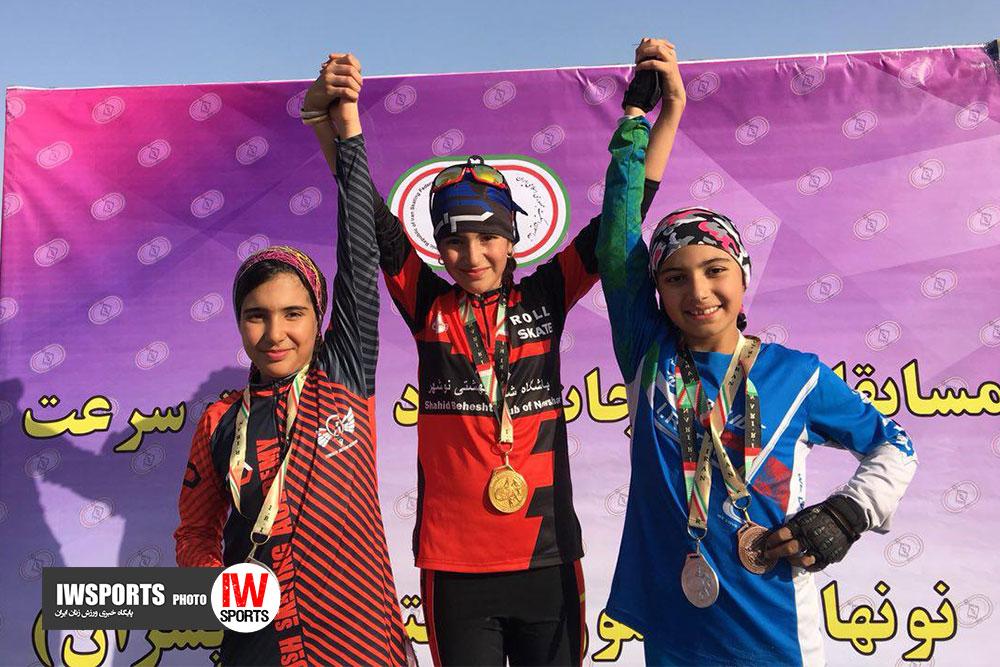 تصاویر مسابقات اسکیت آزاد نونهالان دختر کشور در تهران