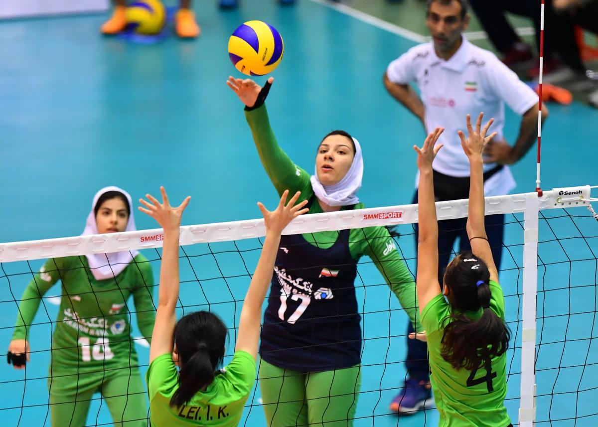 والیبال جوانان آسیا ؛ ایران ۱ قزاقستان ۳ / ایران تیم مرحله حذفی نبود