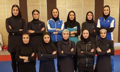 تیم ملی کاراته بانوان لیگ جهانی ترکیه کاراته وان استانبول 400x240 دختران ایران در کاراته وان استانبول؛ برنامه مسابقات و حریفان