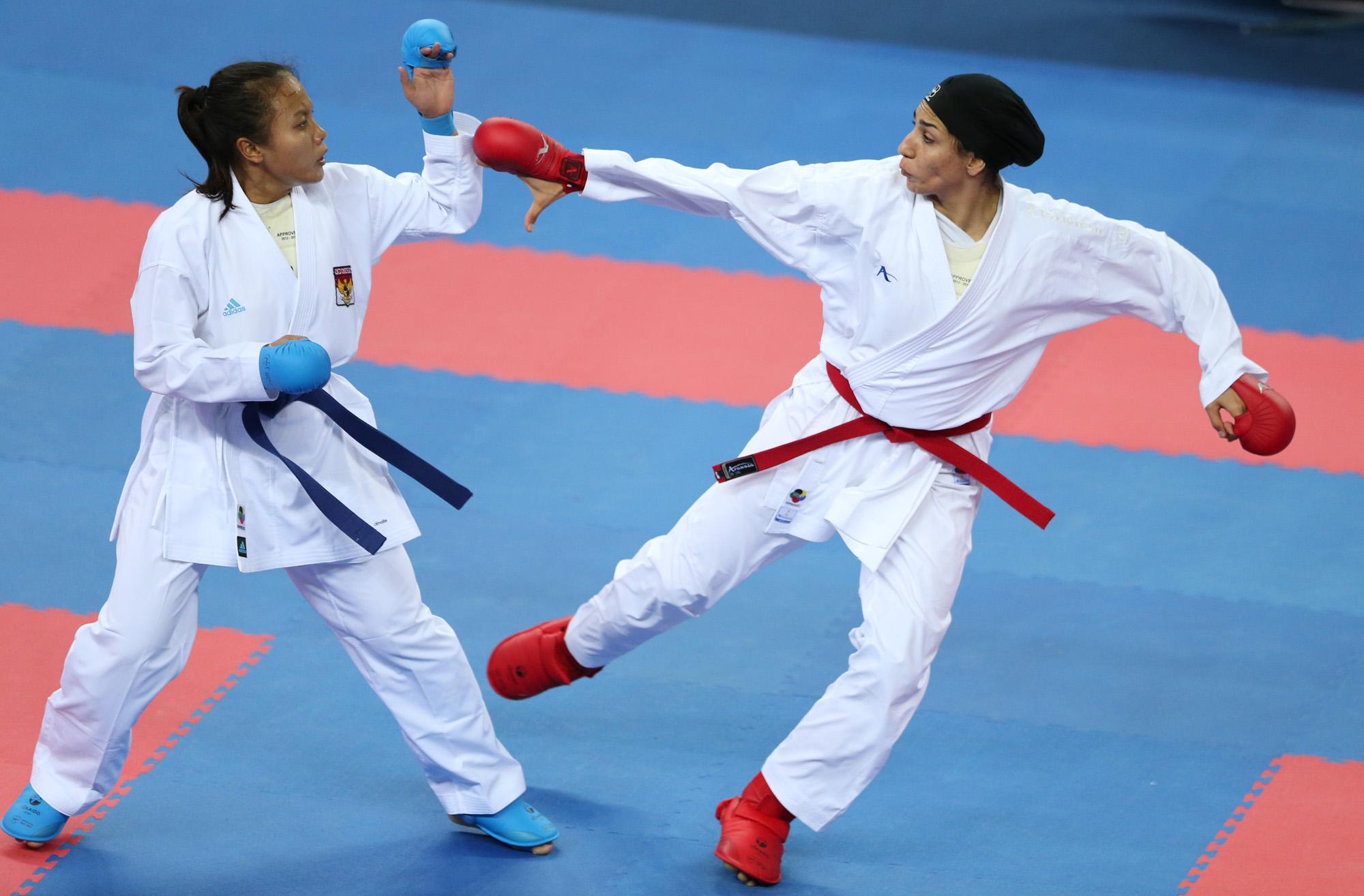 حمیده عباسعلی ورزش بانوان کاراته 2 حمیده عباسعلی و سفر طولانی به کانادا ؛ در پاریس به تیم ملی می پیوندد
