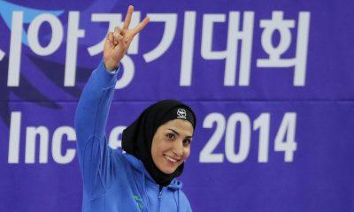 حمیده عباسعلی ورزش بانوان کاراته 4 400x240 کاراته وان مادرید | حمیده عباسعلی با پیروزی بر آیاکو سایتو برنز گرفت