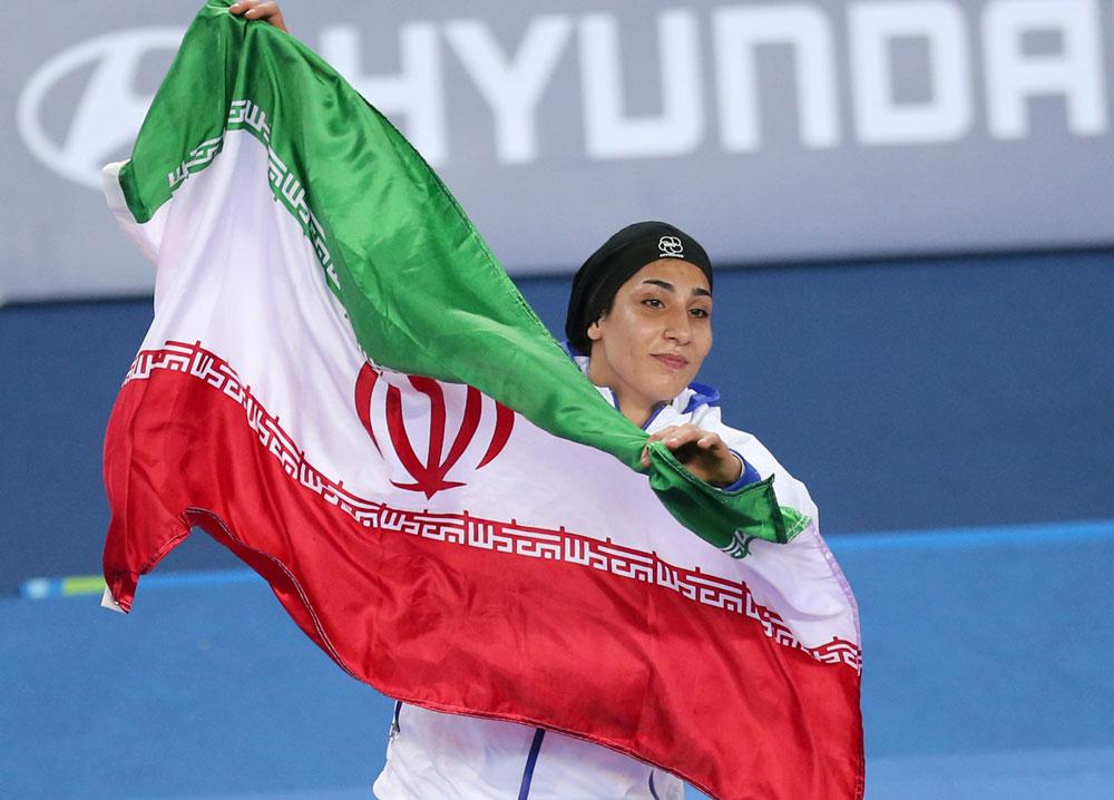 تاریخچه کاراته بانوان ایران در بازیهای آسیایی
