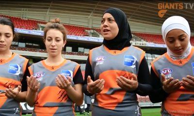 راگبی مسلمانان و غیر مسلمانان ورزش بانوان 400x240 ویدئو : بازیکنان محجبه و غیر محجبه در یک تیم راگبی در استرالیا