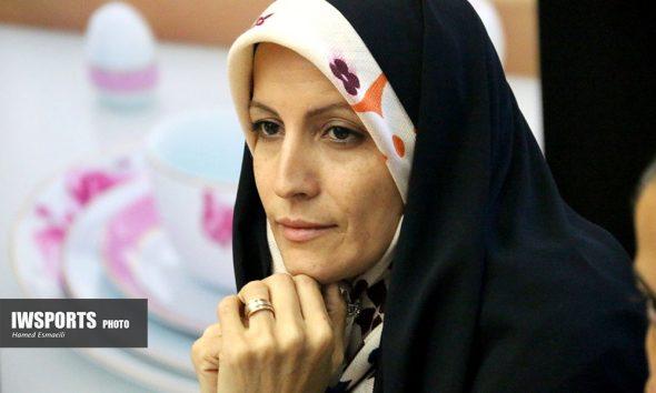 قرعه کشی لیگ برتر فوتسال بانوان 97 لیلا صوفی زاده1 590x354 درباره لیلا صوفی زاده | نایب رئیس محتاط و تهی از قدرت، پاسخگویی و اقتدار