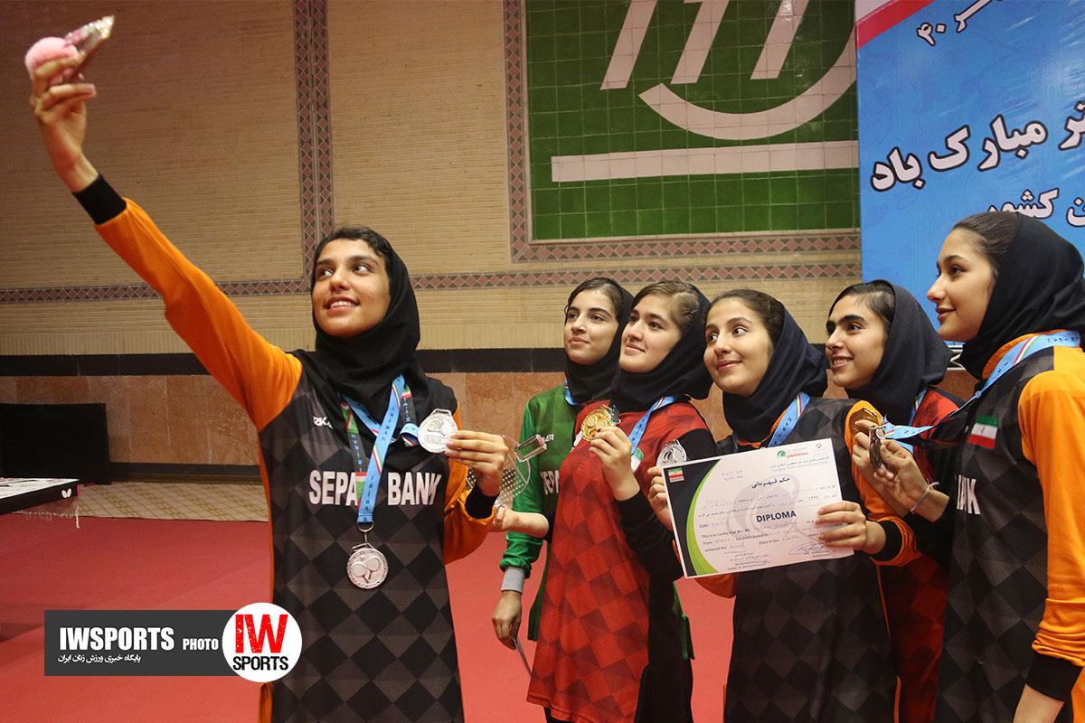 تنیس روی میز ایران در سال ۹۸ | تورهای سه گانه ؛ ۲ قهرمانی برای شیما صفایی
