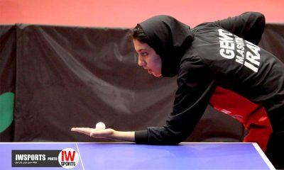 تور ایرانی تنیس روی میز بانوان اصفهان مهشید اشتری64 400x240 کرمانشاه میزبان تور تنیس روی میز بزرگسالان بانوان شد