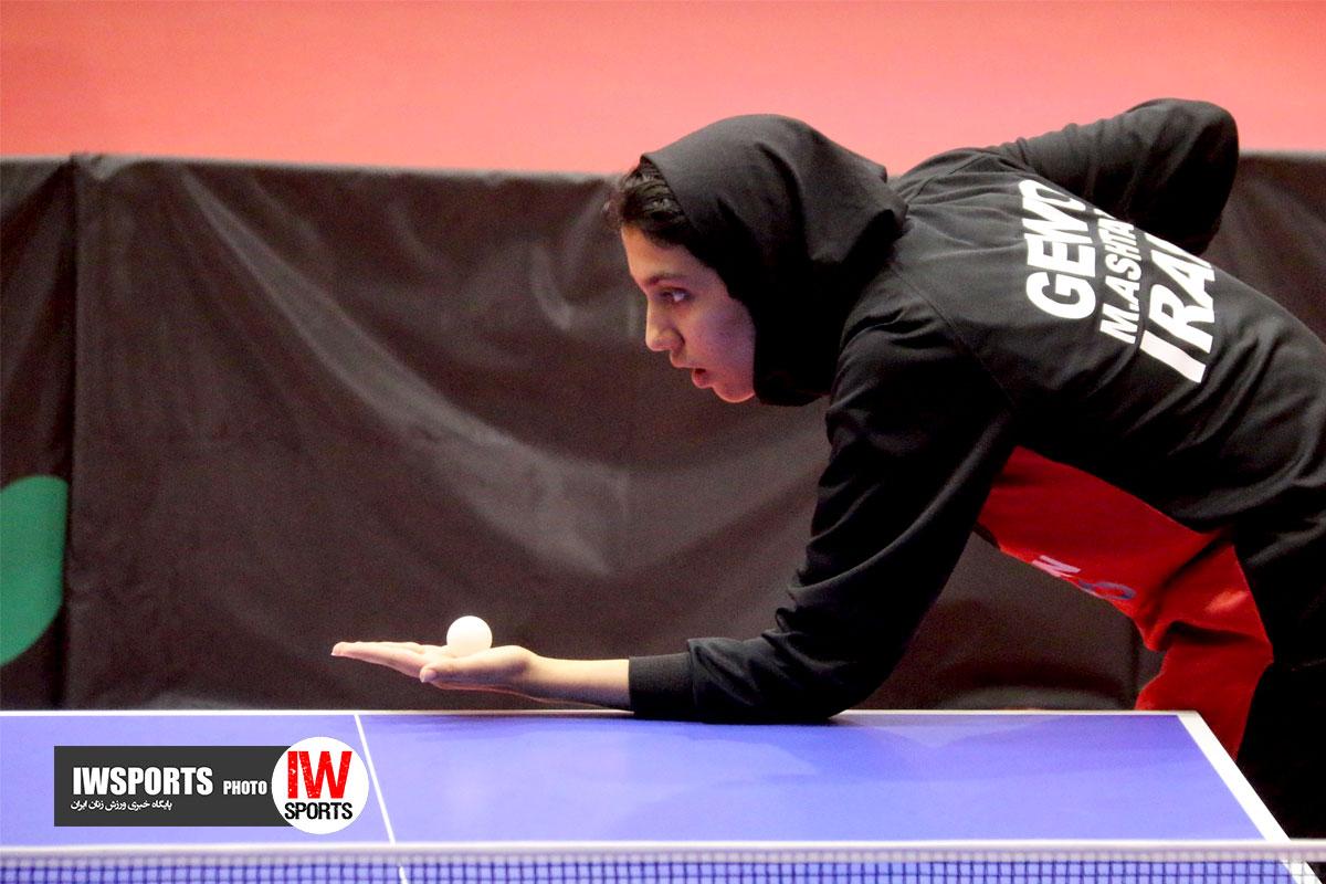 کرمانشاه میزبان تور تنیس روی میز بزرگسالان بانوان شد