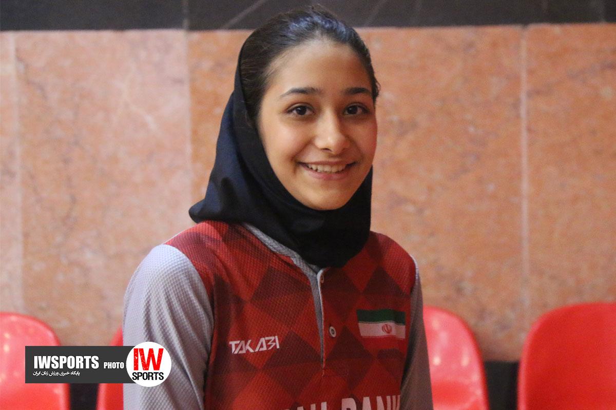 تور ایرانی تنیس روی میز بانوان اصفهان پریناز حاجیلو57 ویدئو | نظرات پریناز حاجیلو پس از رفع آسیب دیدگی و بازگشت به میادین
