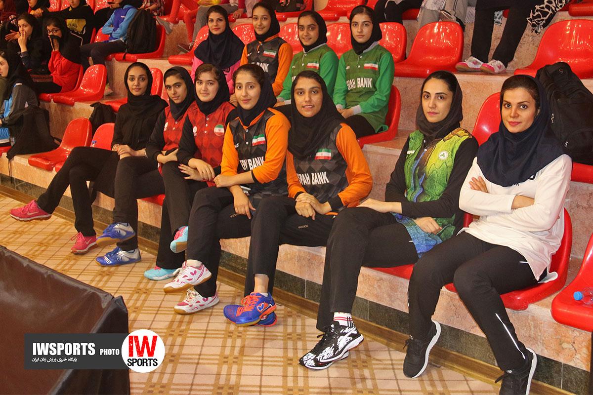 رنکینگ ملی تنیس روی میز بانوان ایران