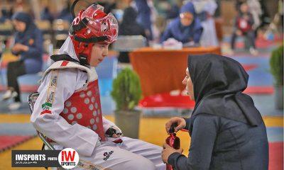تکواندو نونهالان دختران کشور در قم 6 400x240 تصاویر مسابقات تکواندوی نونهالان دختر کشور در قم