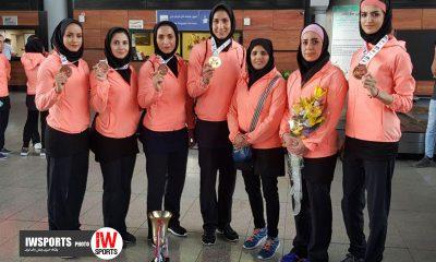 تیم ملی کاراته بانوان ایران 6 400x240 ویدئو | اردوی تیم ملی کاراته بانوان پیش از کاراته وان مراکش