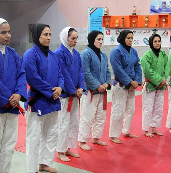 تیم ملی کوراش بانوان ایران 560x567 دختران تیم ملی کوراش در یزد اردو زدند