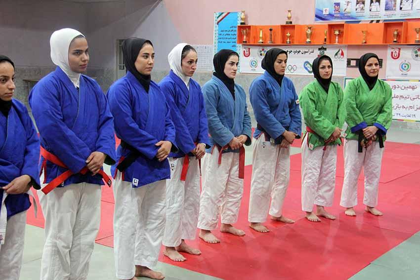 دختران تیم ملی کوراش در یزد اردو زدند