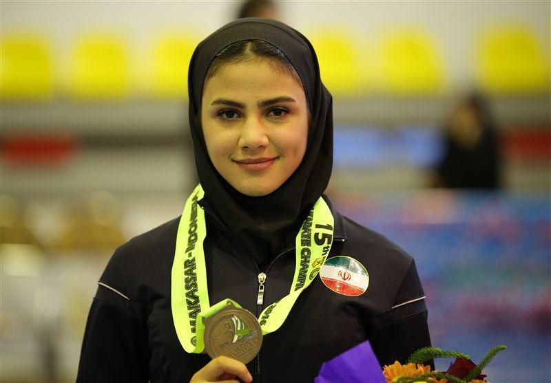 کاراته قهرمانی جهان / پایان کار با مدال برنز سارا بهمنیار 19 ساله