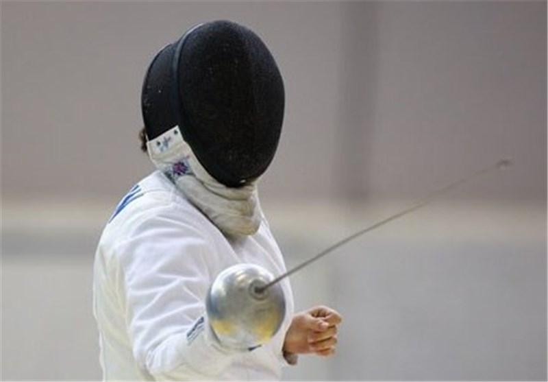 شمشیر بازی 8 دختر شمشیرباز در اردوی تیم ملی سابر و فلوره