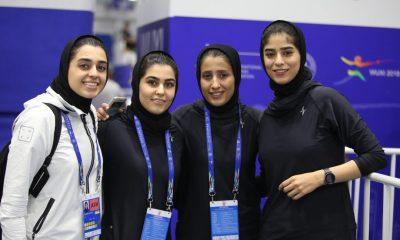 IMG 20180729 103140 644 400x240 صعود ۱۰ پله ای دختران سابریست ایران در جهان بعد از درخشش در رقابت های قهرمانی جهان
