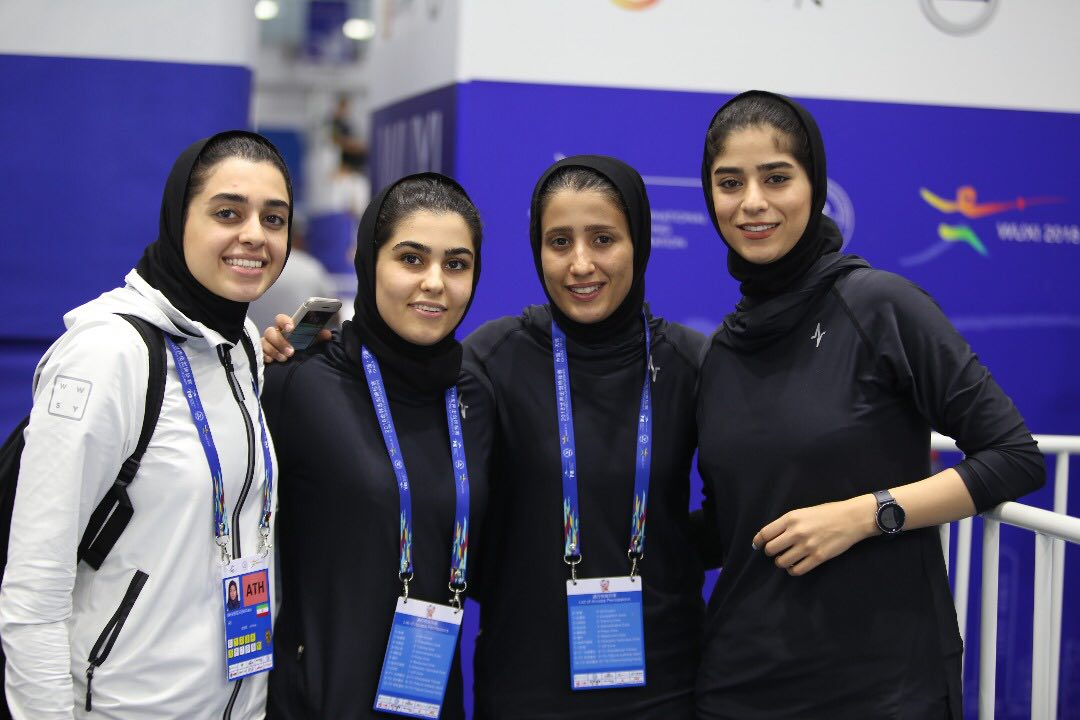 صعود ۱۰ پله ای دختران سابریست ایران در جهان بعد از درخشش در رقابت های قهرمانی جهان