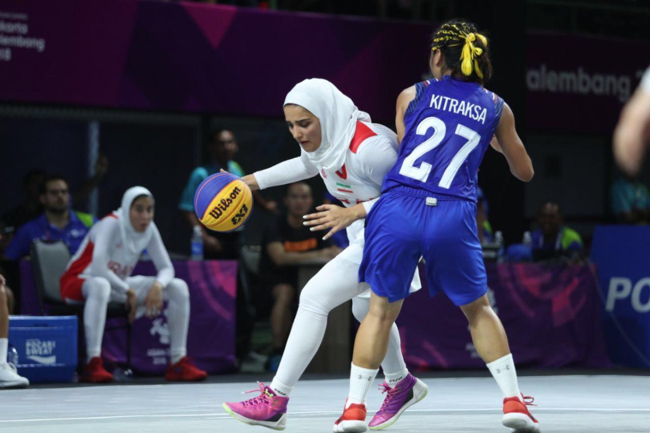 صعود تاریخی دختران بسکتبال سه نفره به دور دوم بازی های آسیایی
