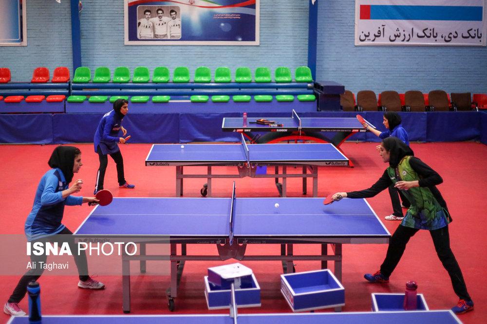 قرعه کشی لیگ تنیس روی میز بانوان ؛ یکشنبه در تهران