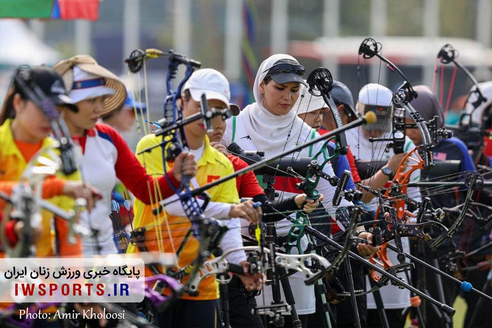 بازی های آسیایی جاکارتا / کمانداران ایران در کامپوند به کار خود پایان دادند