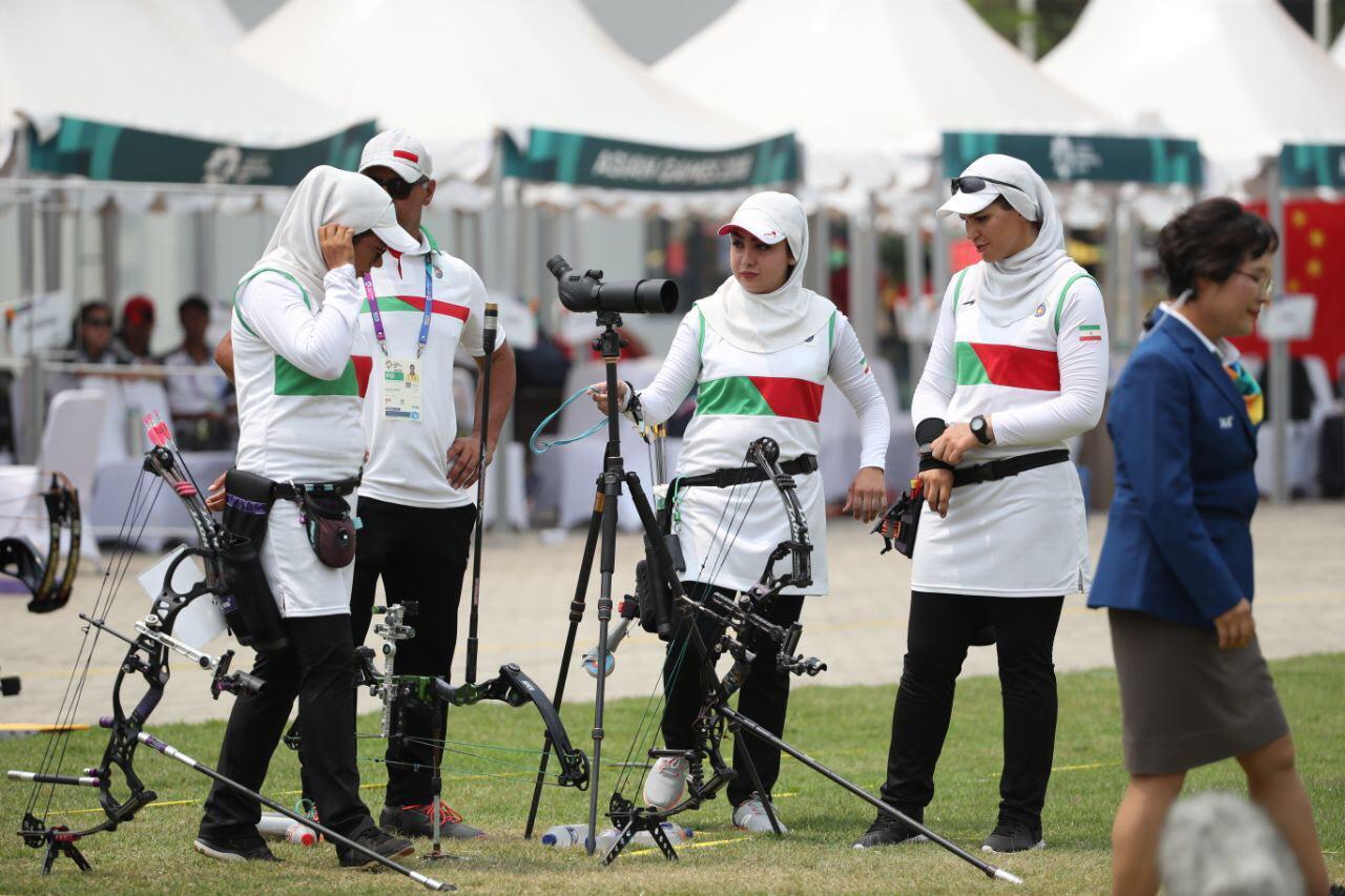 شکست برابر چین تایپه ؛ مدال برنز از دست دختران کماندار ایران پرید