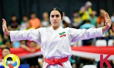 فاطمه صادقی کاتا ورزش زنان ورزش بانوان پایگاه خبری ورزش زنان ایران 400x240 به بهانه قهرمانی فاطمه صادقی 19 ساله در انتخابی تیم ملی کاتا / ستاره جدیدی متولد شده ؟