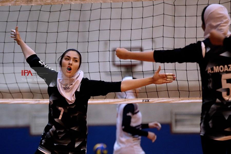 تصاویر فینال والیبال دسته اول امیدهای دختر کشور و قهرمانی تهران