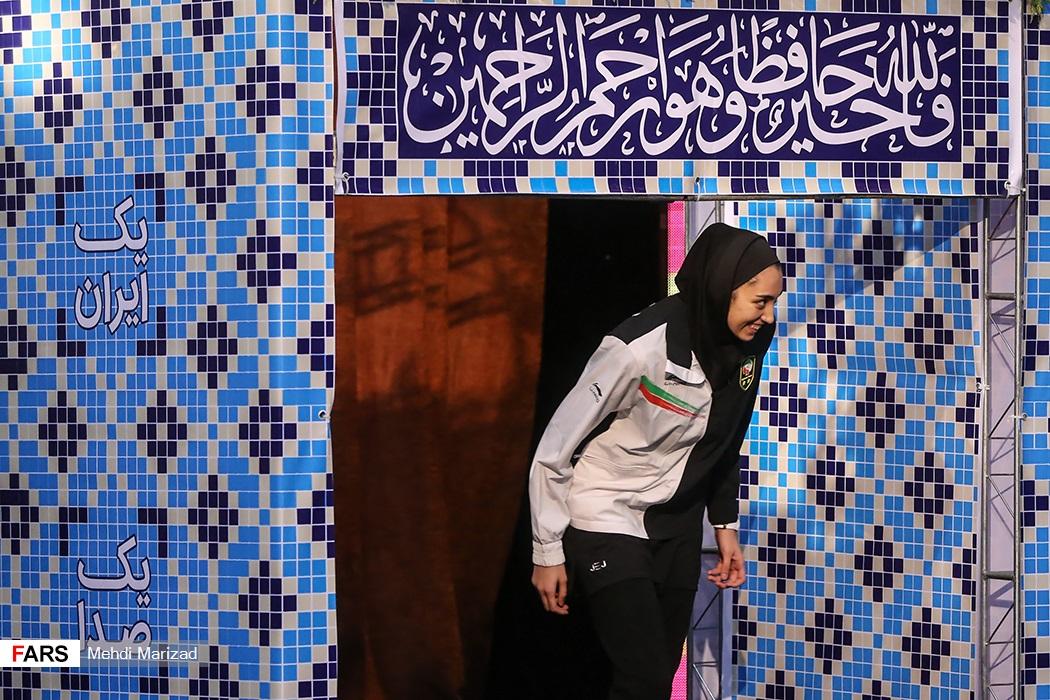 تصاویر مراسم بدرقه کاروان ایران در بازی های آسیایی جاکارتا