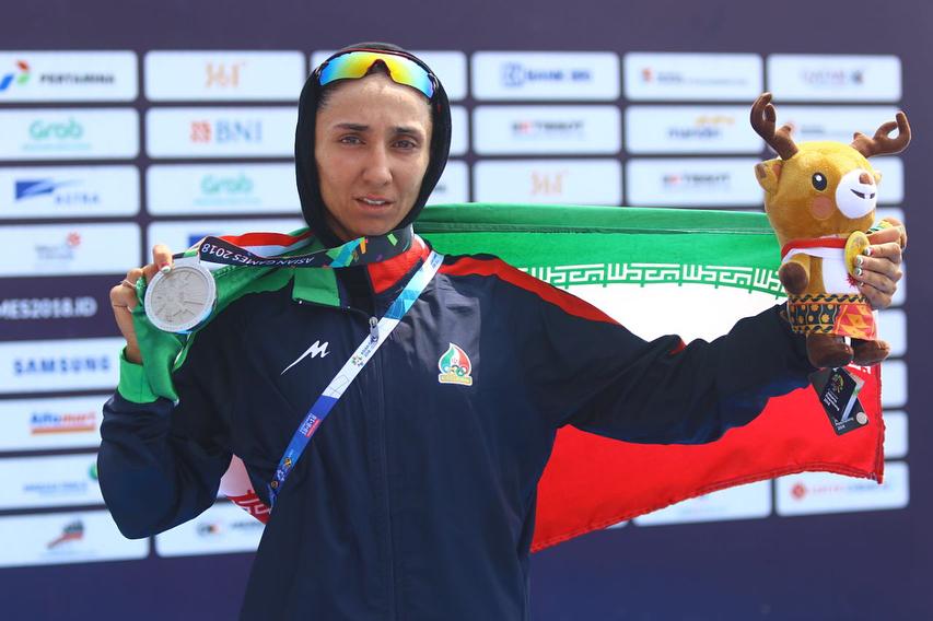 2 مدال نقره برای دختران قایقران ایران در آخرین روز رویینگ