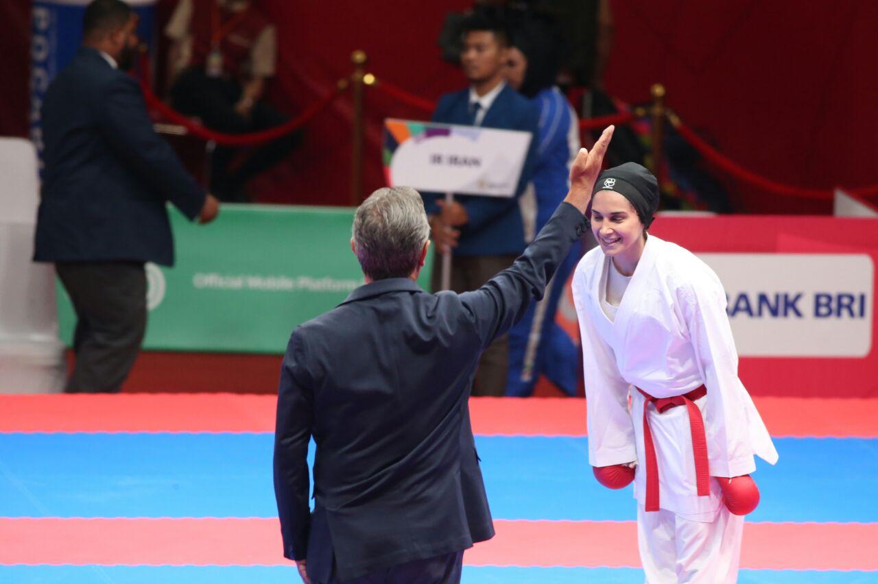 دومین نقره دختران کاراته کای ایران بر گردن رزیتا علیپور