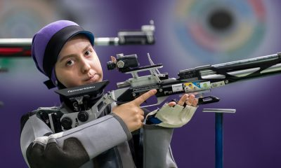 آرمینا صادقیان تیراندازی ورزش بانوان 400x240 دومین سهمیه المپیک برای آرمینا صادقیان | ستاره ایلام متوقف نمیشود