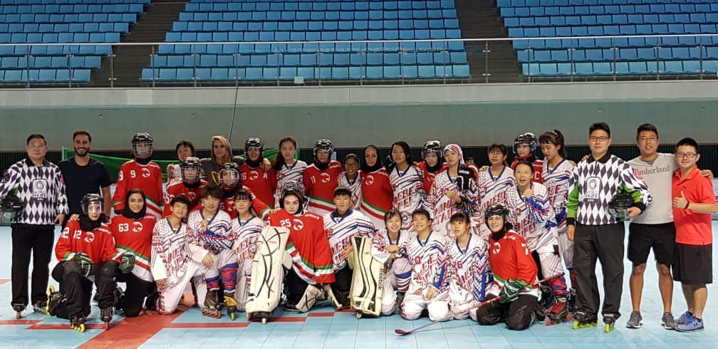مسابقات قهرمانی آسیا/ پایان کار دختران اینلاین هاکی ایران با عنوان سوم
