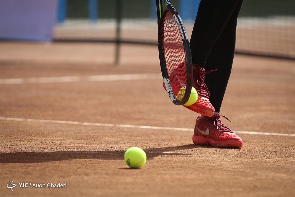 ویدئو | تمرین دختران تنیسور در تهران