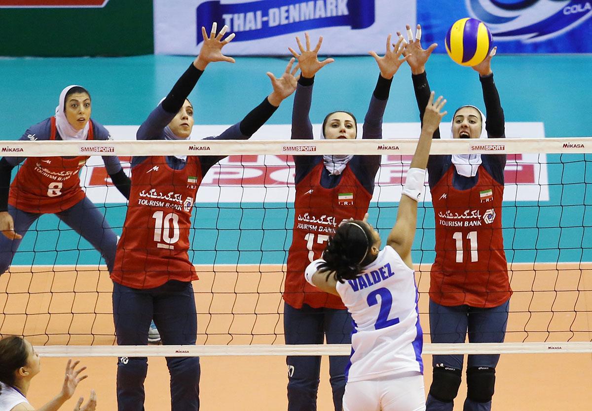 والیبال کاپ آسیا / ایران ۳ فیلیپین ۲ ؛ دختران والیبال ایران متخصص ست پنجم