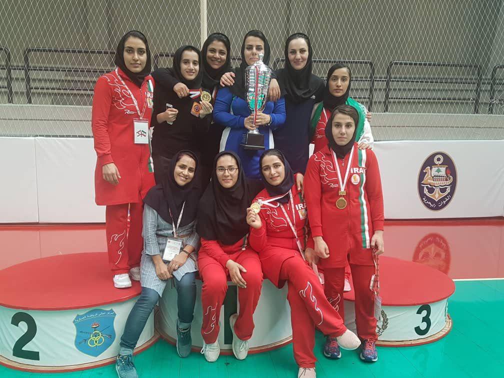 شروع رویایی دختران کشتی گیر ایران / اولین حضور بین المللی و اولین قهرمانی