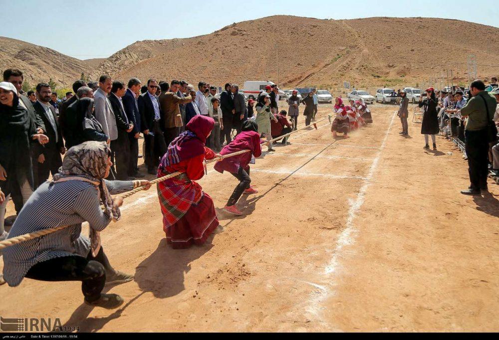 جشنواره بازی های بومی محلی کشور به میزبانی خراسان شمالی 1 1000x682 تصاویر جشنواره بازی های بومی محلی در خراسان شمالی