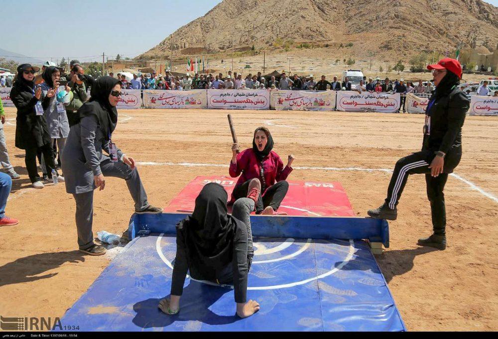 جشنواره بازی های بومی محلی کشور به میزبانی خراسان شمالی 11 1000x682 تصاویر جشنواره بازی های بومی محلی در خراسان شمالی
