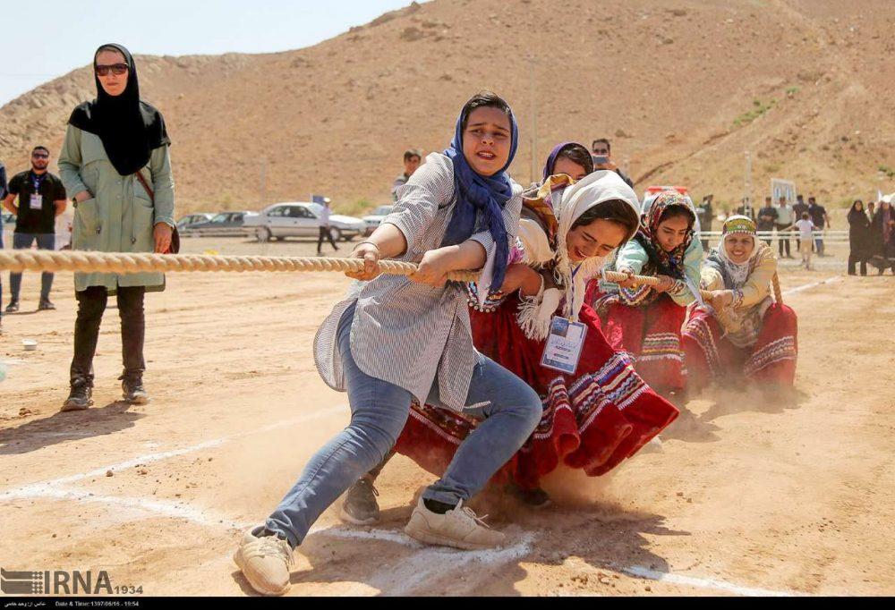جشنواره بازی های بومی محلی کشور به میزبانی خراسان شمالی 2 1000x682 تصاویر جشنواره بازی های بومی محلی در خراسان شمالی