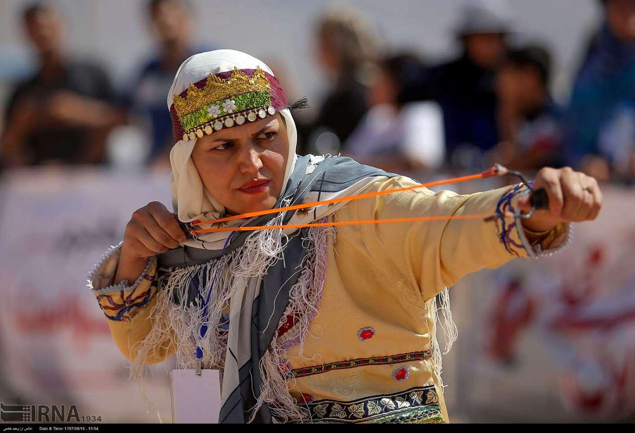 تصاویر جشنواره بازی های بومی محلی در خراسان شمالی