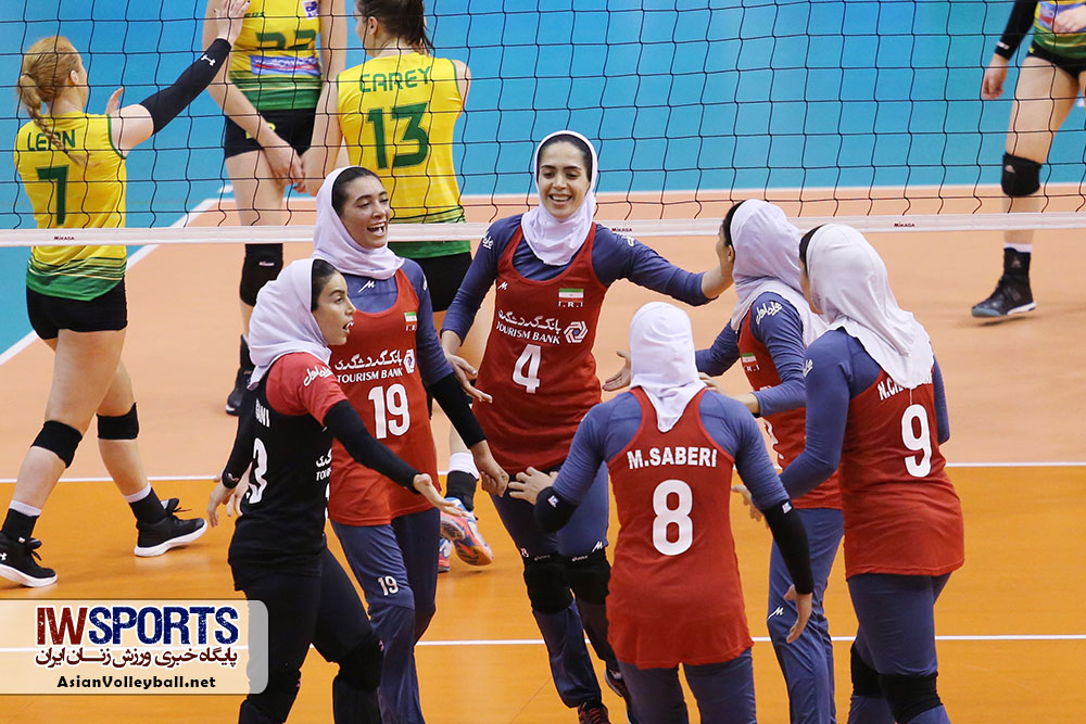 تیم ملی والیبال زنان روی پله ۶۳ رنکینگ جهانی