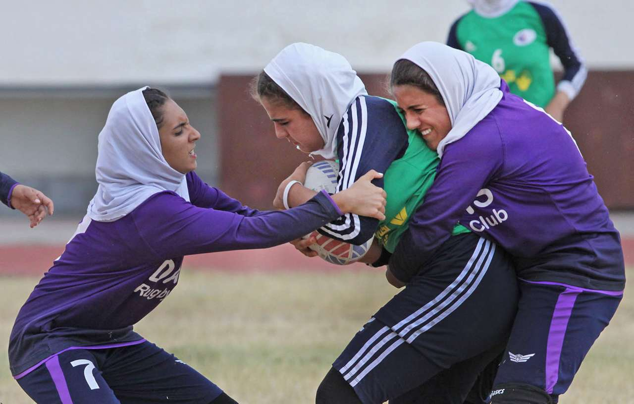 راگبی دختران زیر ۱۸ سال در گرگان / قهرمانی داتیس تهران با پیروزی بر کرمان