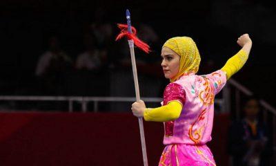 زهرا کیانی تالوکار ایران 400x240 به مناسبت روز جهانی ووشو | تلفیق شگفت انگیز دختران مبارز ، دختران هنرمند