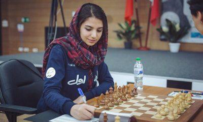 سارا خادم الشریعه 1 400x240 صعود خادم الشریعه به رده ی پانزدهم رنکینگ جهانی شطرنج بانوان با درخشش در چین