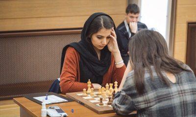 سارا خادم الشریعه 4 400x240 لیگ شطرنج چین | 3 تساوی و یک شکست برای خادم الشریعه در هفته اول