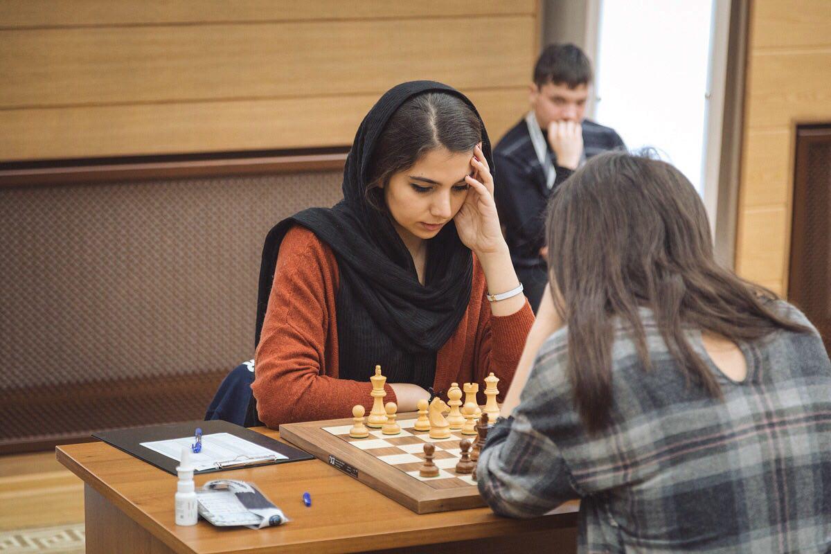 سارا خادم الشریعه بار دیگر روی سکوی چهارم قرار گرفت