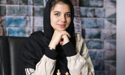 سارا خادم الشریعه 400x240 سارا خادم الشریعه در مسابقات شطرنج برق آسای چین چهارم شد
