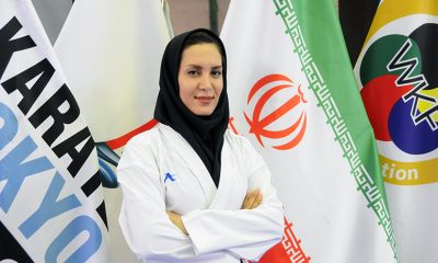 سمانه خوش قدم 400x240 پایان دوران ستاره موسوی   سمانه خوش قدم مربی تیم ملی کاراته بانوان شد