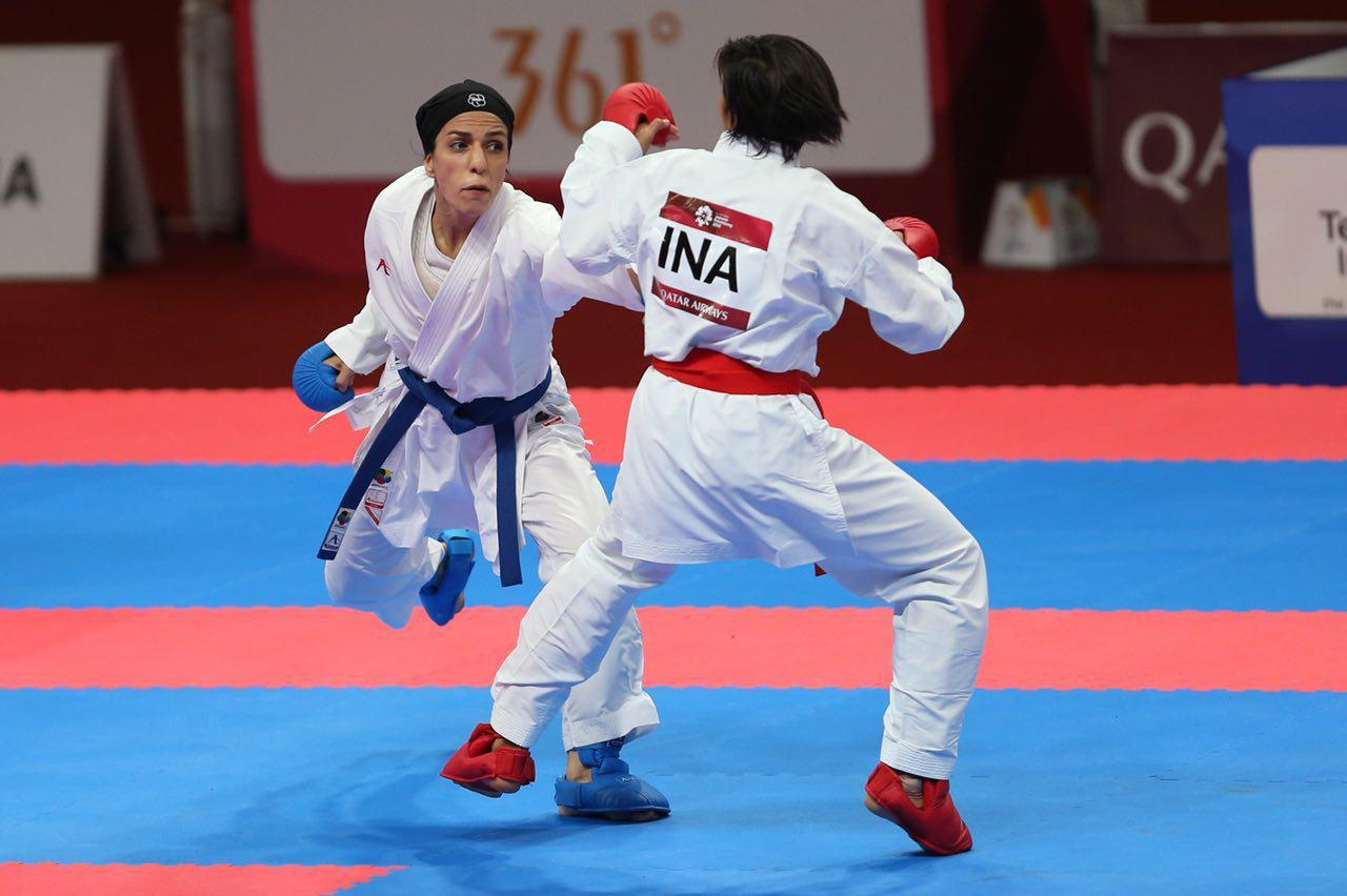 لیگ جهانی کاراته توکیو | دختران کاراته کای ایران راهی ژاپن شدند؛ گروه ۱+۶